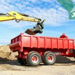 nosič kontajnerov Bigab za traktor