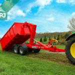 nosič kontajnerov za traktor Bigab
