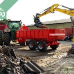 nosiče kontajnerov Bigab za traktor