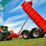 traktorový nosič kontajnerov BIGAB 12-15 druhej generácie
